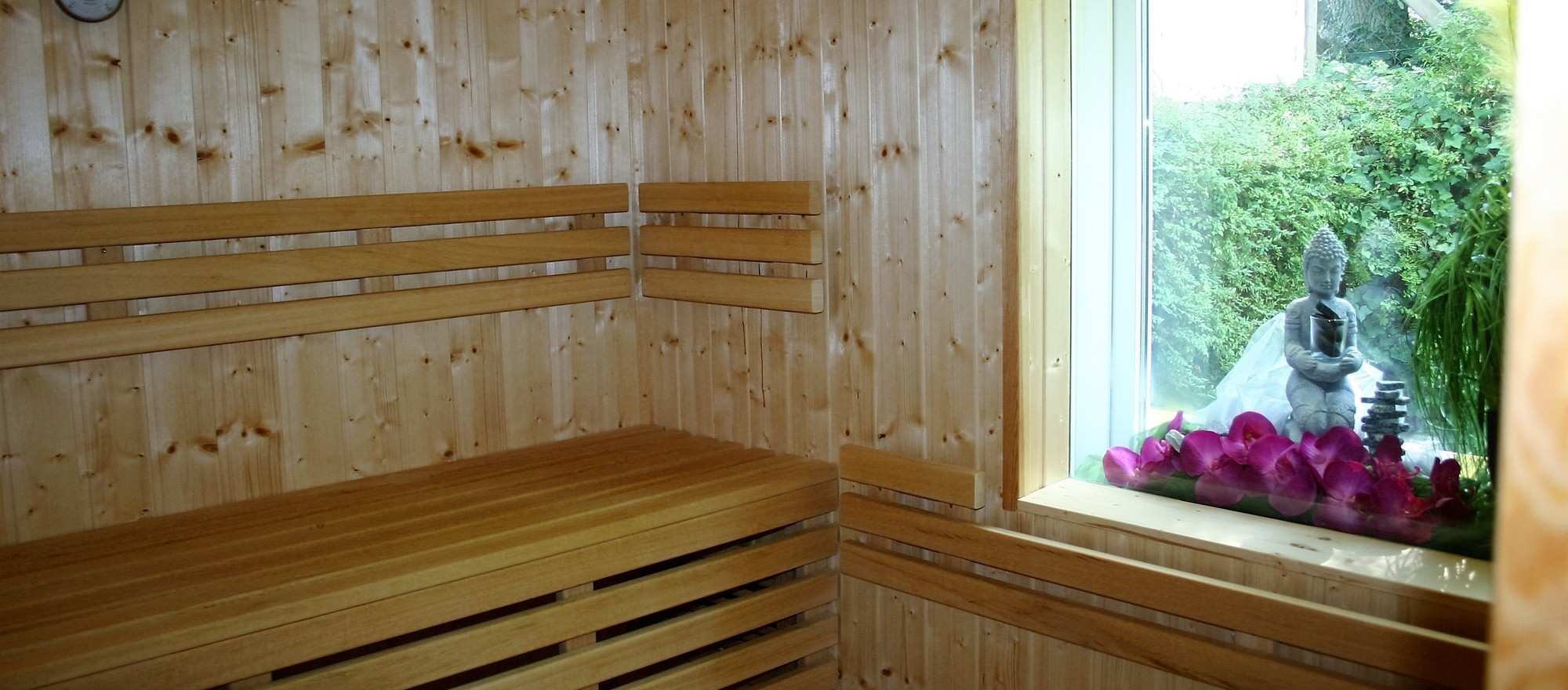 Relax in the sauna of the 4-star hotel Ringhotel Villa Margarete in Waren