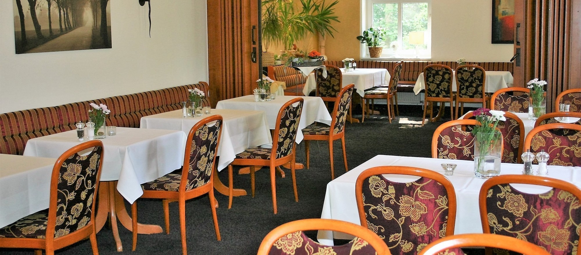 Restaurant in the 4-star hotel Ringhotel Villa Margarete in Waren