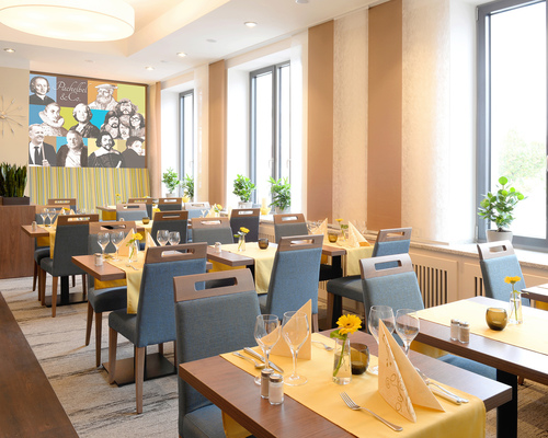 Enjoy regional specialties at the 4-star hotel Ringhotel Loew´s Merkur in Nuremberg