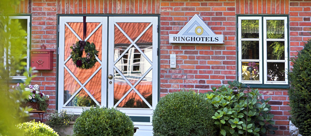 Beautiful and calm hotel at the countryside: the Ringhotel Friederikenhof in Luebeck-Oberbuessau