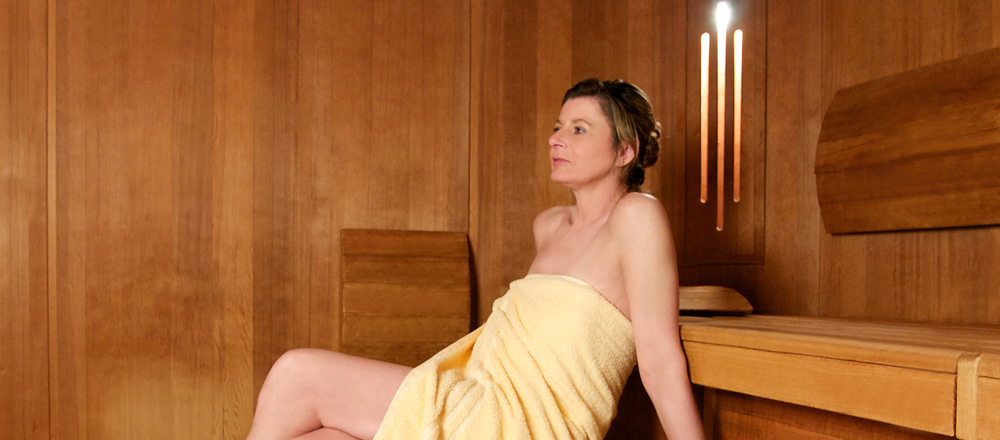 Sauna in the Ringhotel Hohe Wacht in Hohwacht, 4-stars superior hotel close to the Baltic Sea
