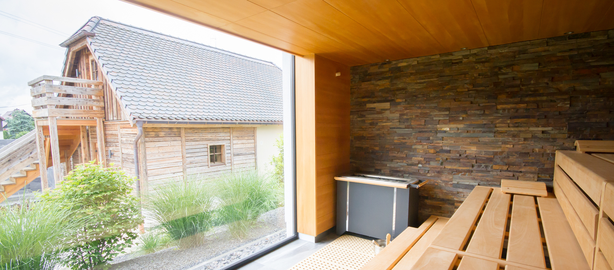 Sauna in the Ringhotel Landhaus Nicolai in Lohmen, hotel in Saxon Switzerland