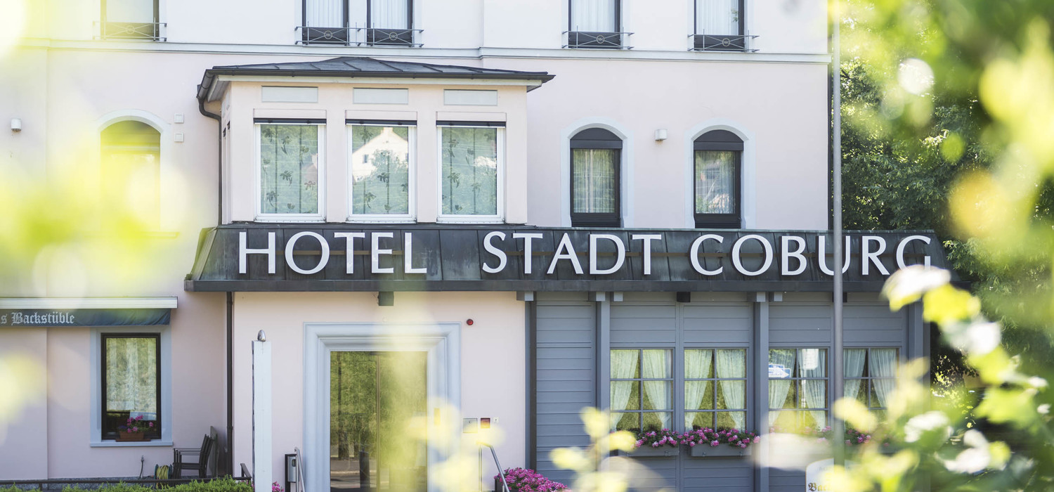 Exterior view of the Ringhotel Stadt Coburg, 3-stars superior hotel in Franconia