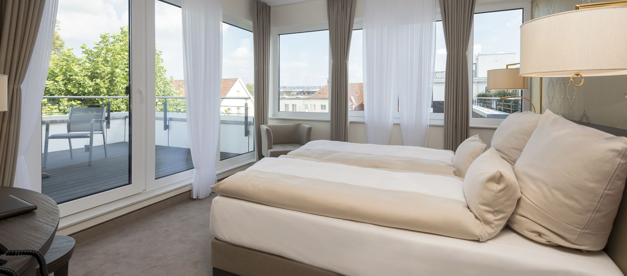 Luxurious suite in the Ringhotel Looken Inn in Lingen, 4-stars hotel in the Emsland