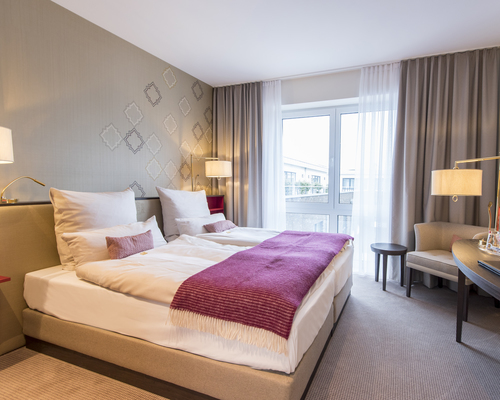 Modern equipped rooms in the Ringhotel Looken Inn in Lingen, 4-stars hotel in the Emsland