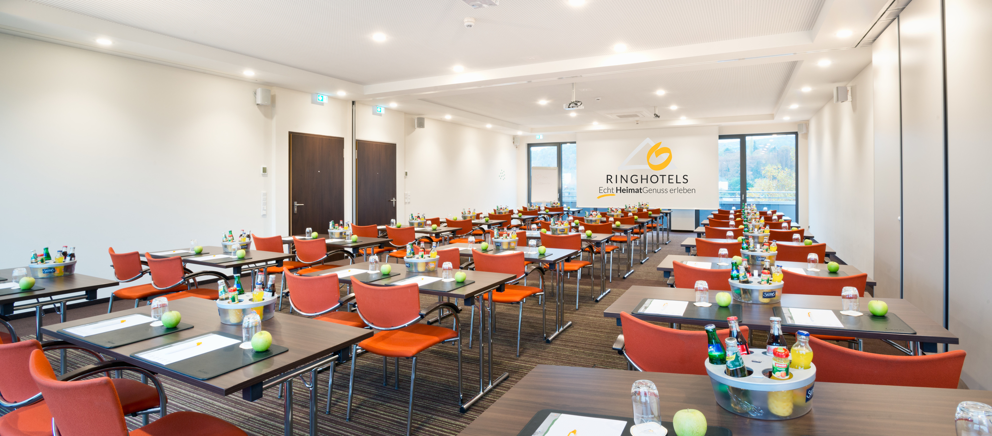 Meeting room in the Ringhotel Zweibruecker Hof in Herdecke, 4-stars hotel in the Ruhrgebiet region
