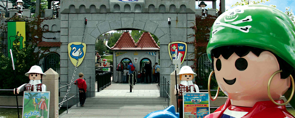 Visit the Playmobil FunPark just two kilometers away from the 3-star-superior hotel Ringhotel Reubel in Nuremberg-Zirndorf for an unforgettable experience with your children