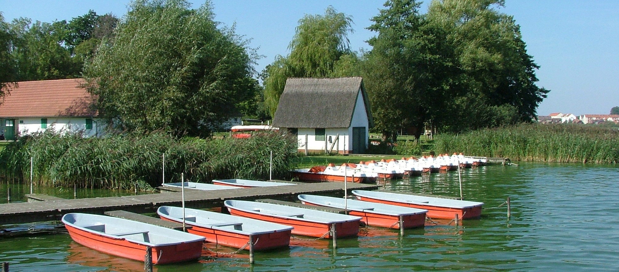Discover the Mecklenburg Lake District with a rowboat, Ringhotel Dreiwasser in Sternberg