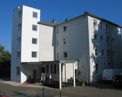 Exterior view of the 3-star superior Ringhotel Park-Hotel in Saarlouis