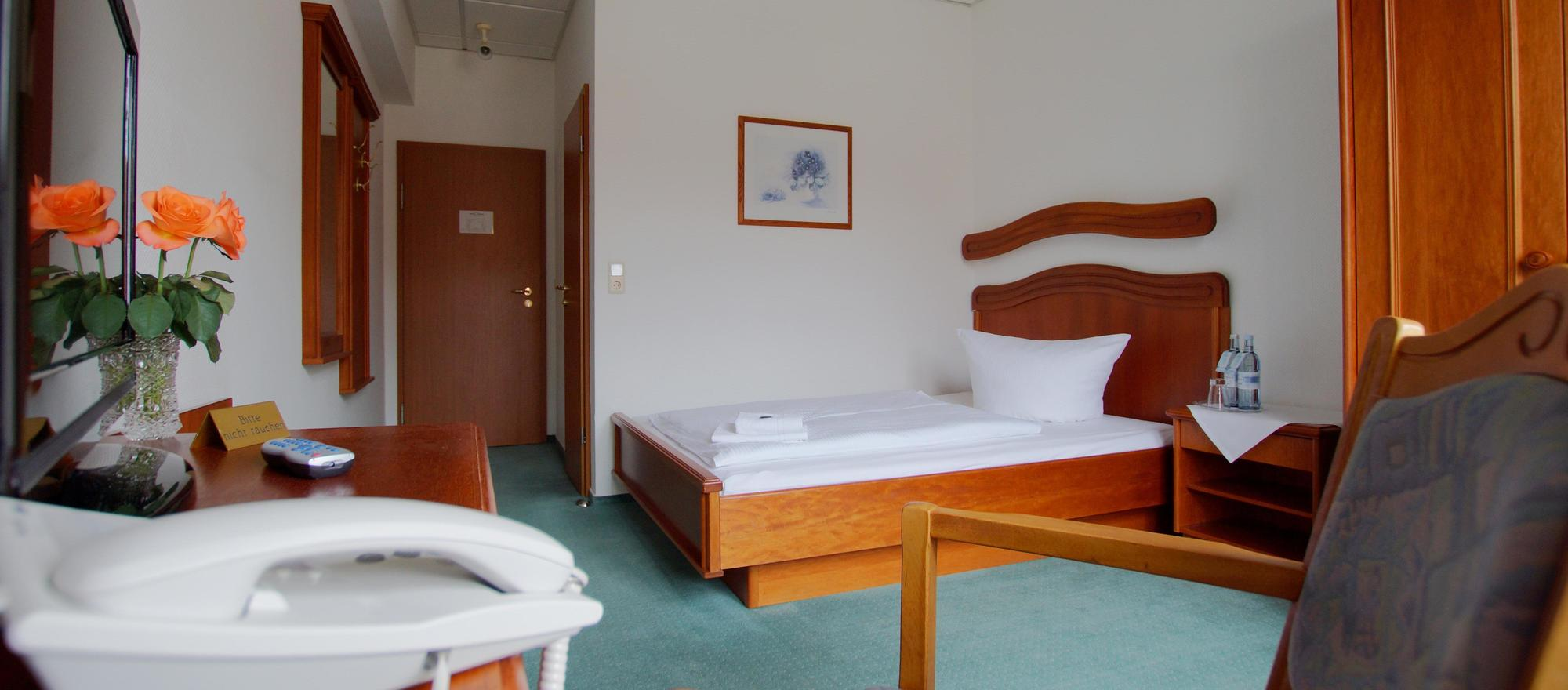 Single room in the Ringhotel Dreiwasser in Sternberg