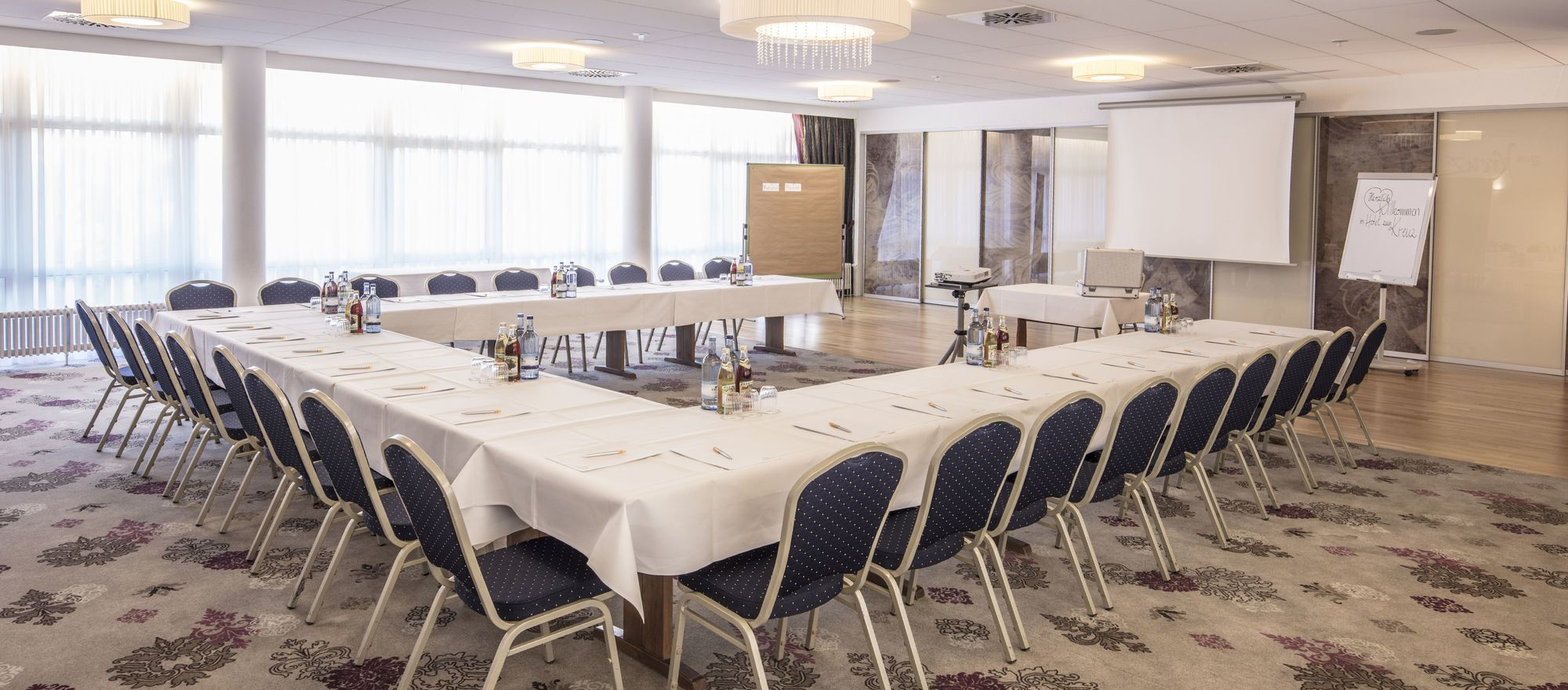 Room for you conferences at the Ringhotel Zum Kreuz in Heidenheim/Steinheim, 4-stars hotel in Swabia