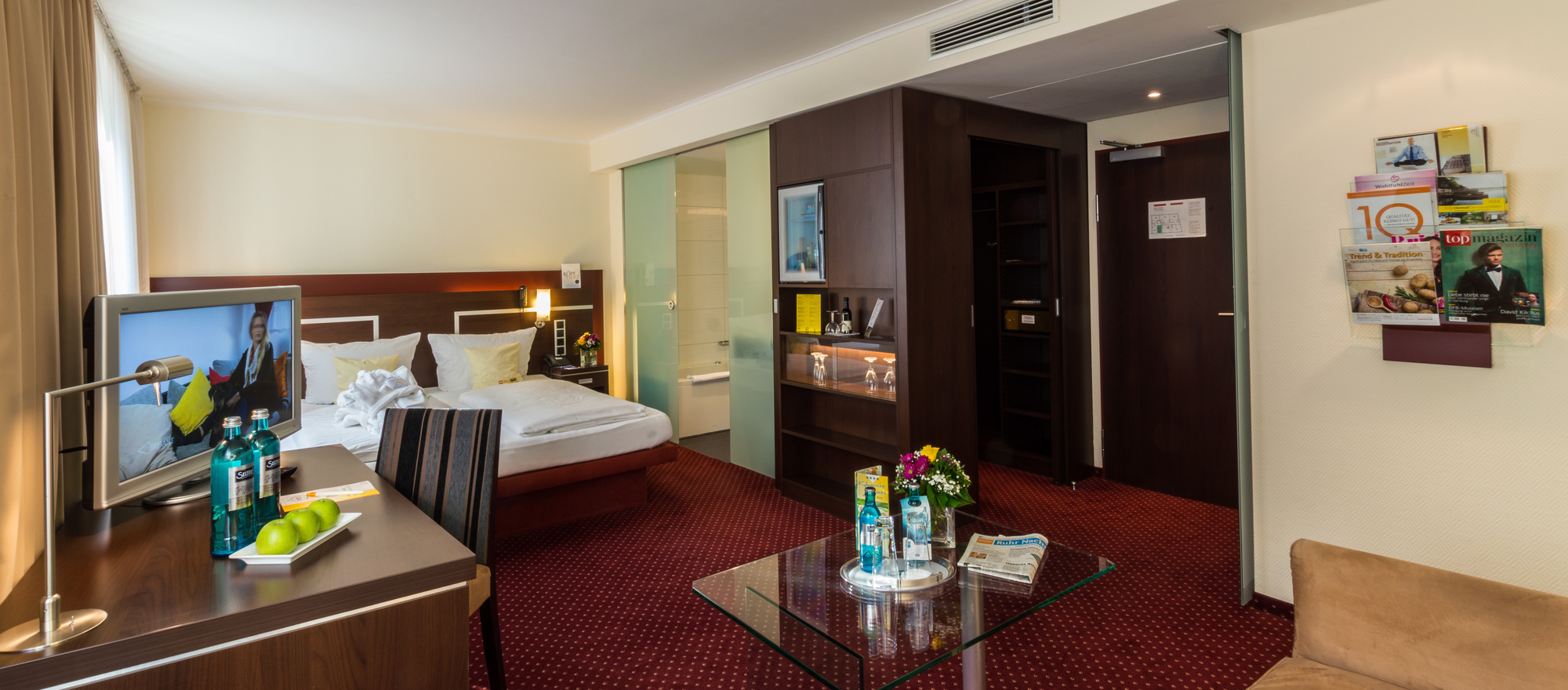 Exclusive Room in the Ringhotel Drees in Dortmund, 4 stars hotel in the Ruhrgebiet region