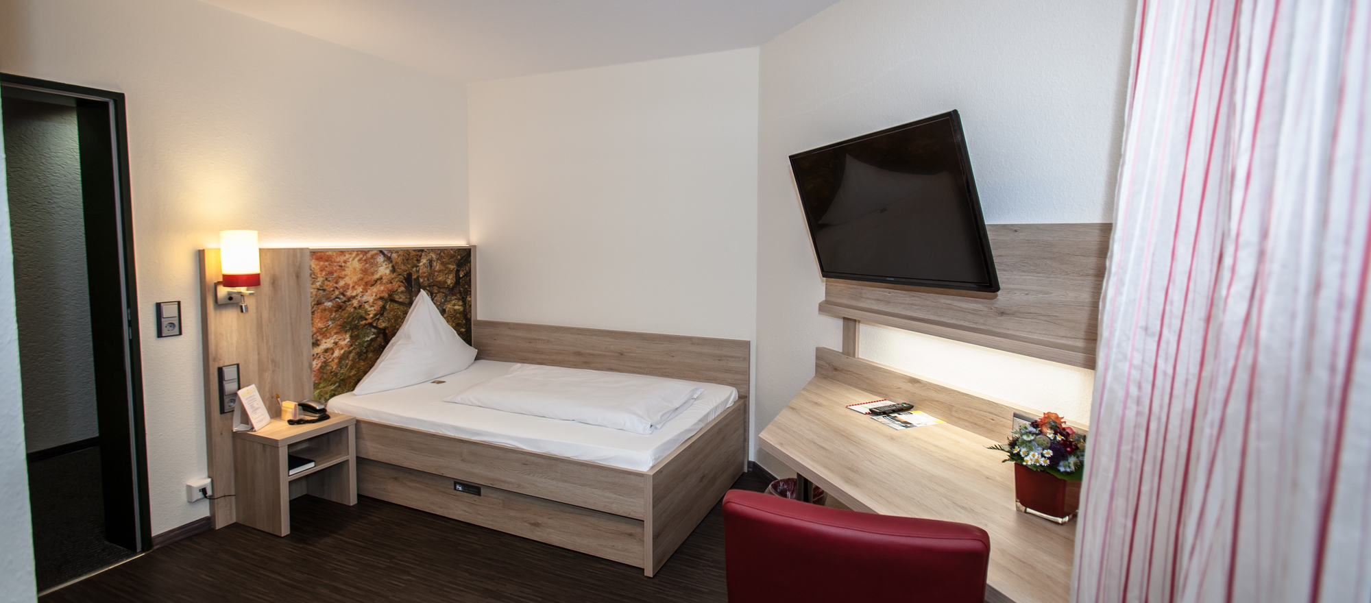Business single room in the 4-star hotel Ringhotel Gasthof Hasen in Herrenberg