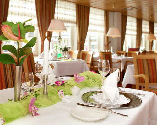 Culinary highlights at the 4-star hotel Ringhotel Weißer Hirsch in Wernigerode