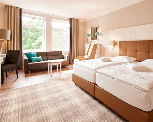 Modern rooms at the Ringhotel Munte am Stadtwald in Bremen, 4 stars Hotel in the Metropolitian region Bremen