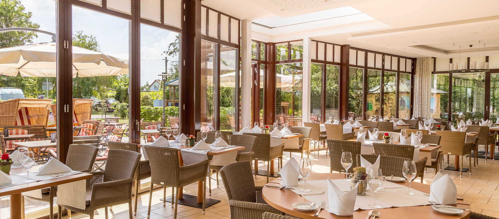 Seasonal, fresh and regional cuisine at the 4-star hotel Ringhotel Warnemuender Hof in Rostock-Warnemuende