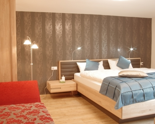 Spacious modern designed rooms at the 3-star-superior Ringhotel Aparthotel Badblick garni in Bad Bellingen
