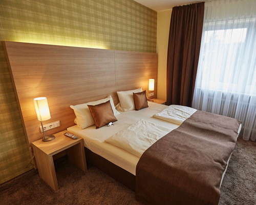 Cozy rooms for your overnight stay at the Ringhotel Central in Ruedesheim, 3-star-superior hotel in the Rhine-Main-Area