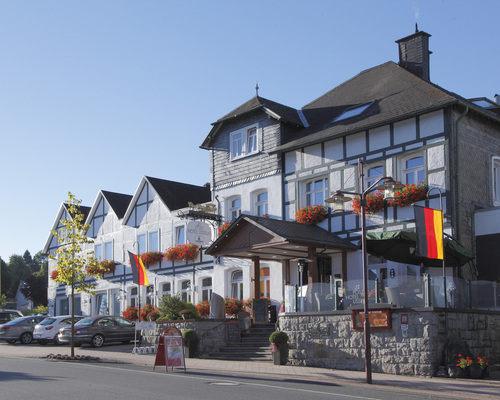 Magic hotel in the Hochsauerland region, the 4-star Ringhotel Posthotel Usseln in Willingen
