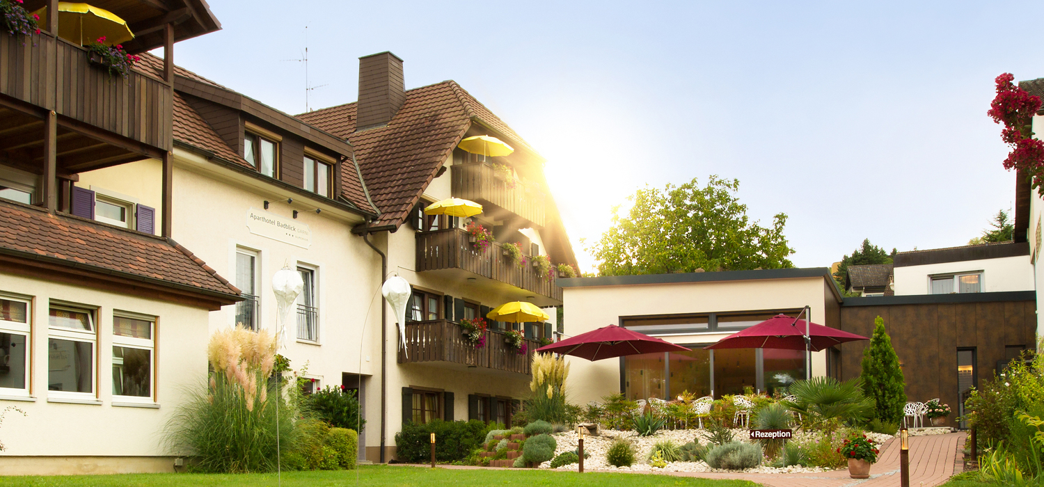 Ringhotel Aparthotel Badblick garni in Bad Bellingen, 3 stars hotel in the Black Forest