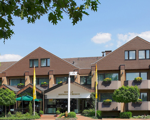 Welcome to Warendorf, the city of horses, in the 4-star hotel Ringhotel Mersch in Warendorf