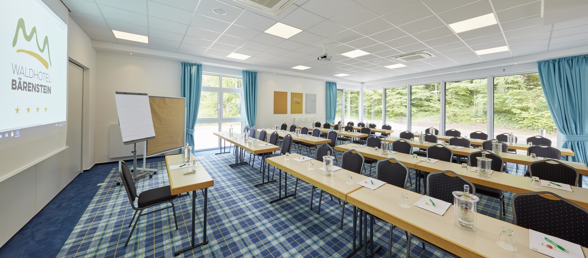 Your seminars, workshops and conferences at the Ringhotel Waldhotel Bärenstein in Horn-Bad Meinberg, 4-Sterne Hotel in the Teutoburg Forest
