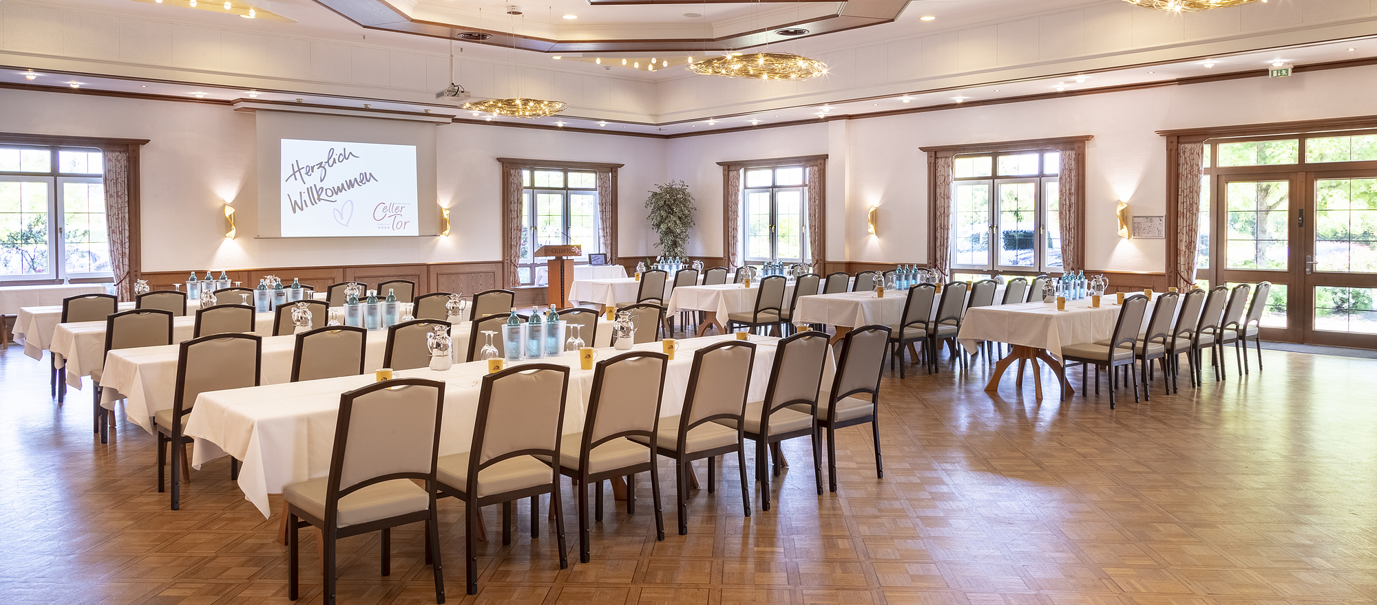 Banquet Hall in 4 Sterne Superior Hotel Ringhotel Celler Tor in Celle