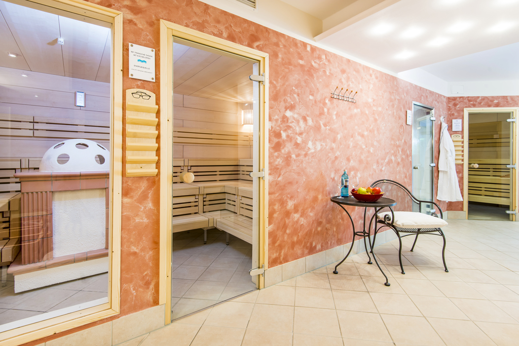 Sauna at the 4-star-superior hotel Ringhotel Celler Tor in Celle