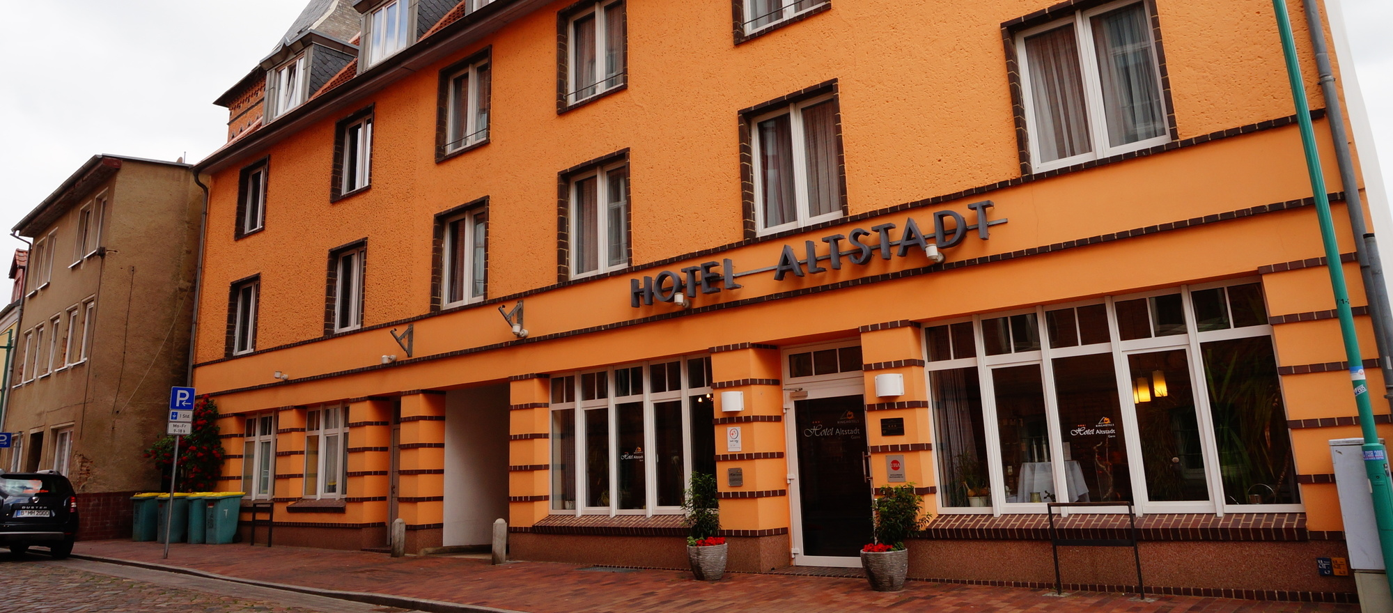 The 3-star-superior hotel Ringhotel Altstadt garni in Guestrow is located in the heart of Guestrow's historic town