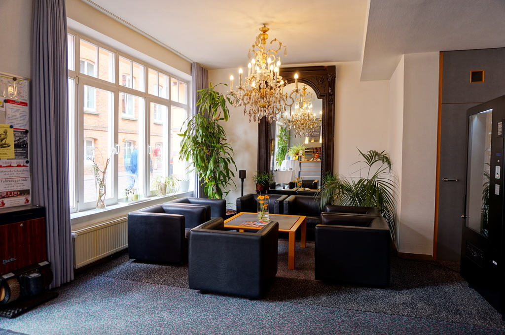 Lounge at the 3-star-superior hotel Ringhotel Altstadt garni in Guestrow