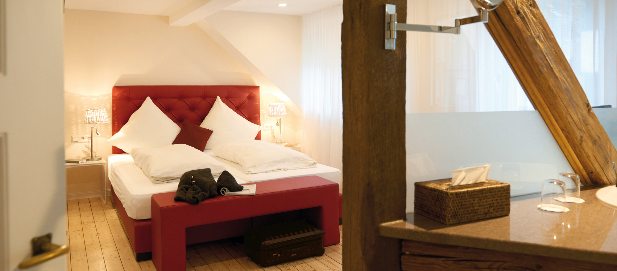Apartement in the Ringhotel Boemers Mosellandhotel, 3-stars superior hotel in Alf/Mosel