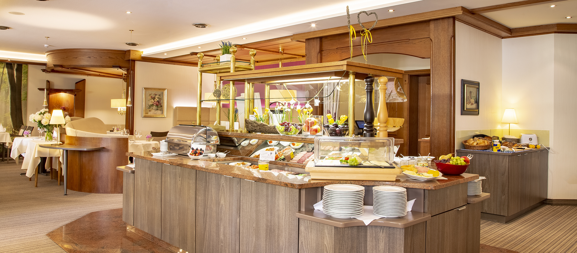 Breakfast in the Ringhotel Celler Tor in Celle, 4-star-superior hotel in the Luneburg Heath
