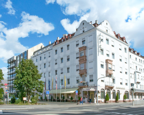 The 4-star hotel Ringhotel Loew´s Merkur in Nuremberg, the capital of Franconian hospitality