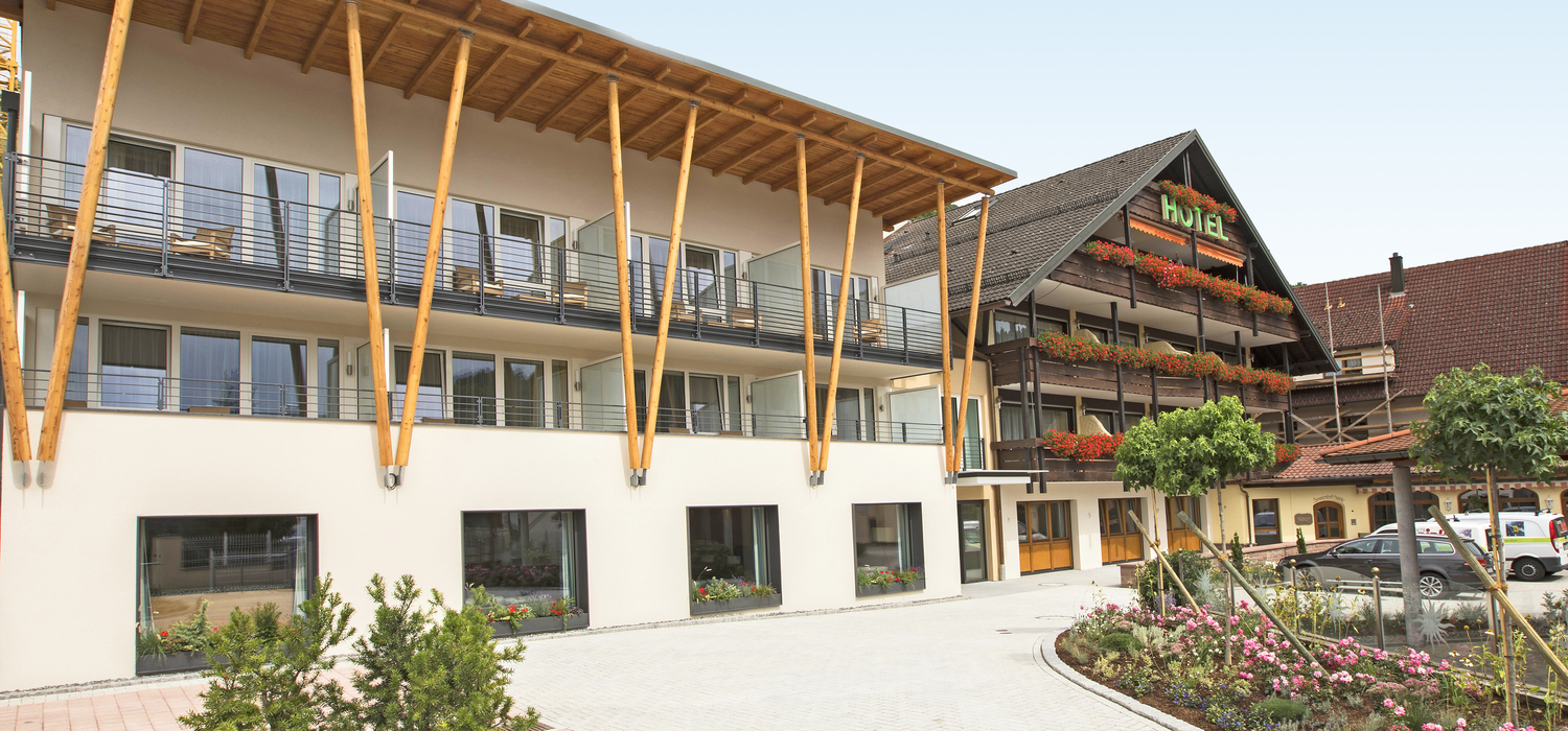 Exterior view of the Ringhotel Sonnenhof in Lautenbach, 4-stars Ringhotel in the Black Forest