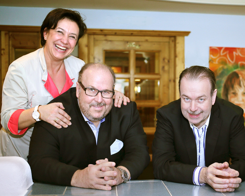 Hosts at the Ringhotel in Lautenbach, 4 stars hotel in the Black Forest - Family Fahrner
