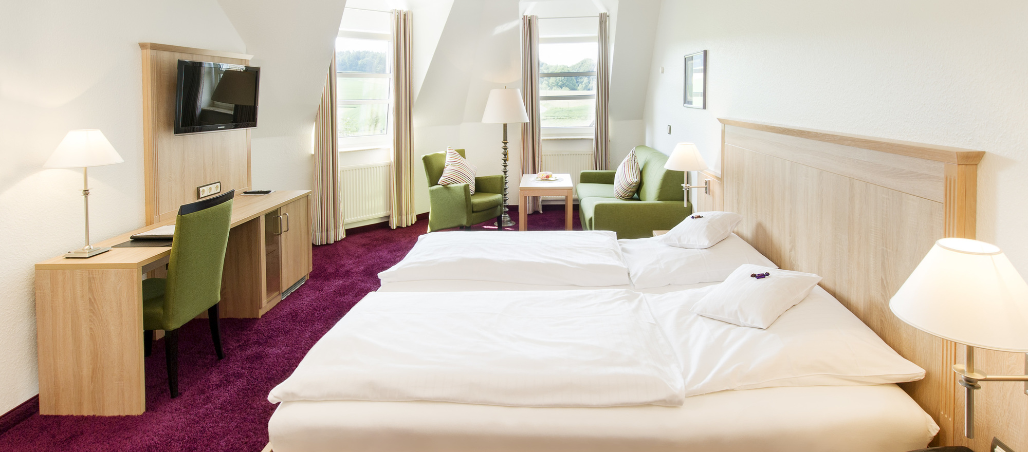 Book a room at the Ringhotel Landhotel Buller, 4-stars hotel in Hagen am Teutoburger Wald