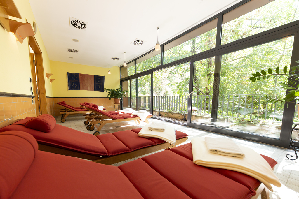 Feel good and relaxing in the wellness center at the Ringhotel Villa Westerberge, 3-star hotel in Aschersleben