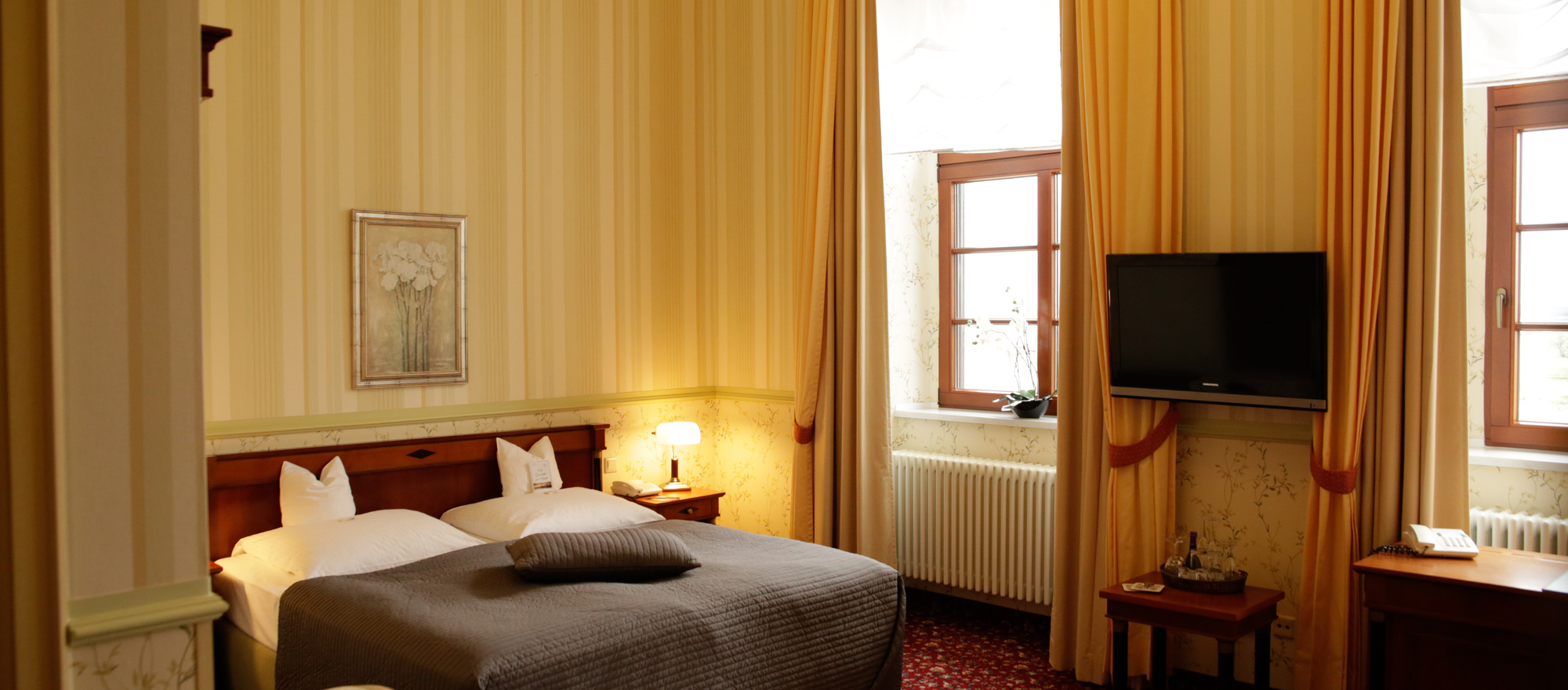 Ringhotel Tangermünde in Tangermuende double room in the main house