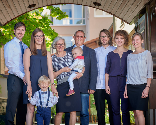 Ringhotel Hasen in Herrenberg host Family Portrait