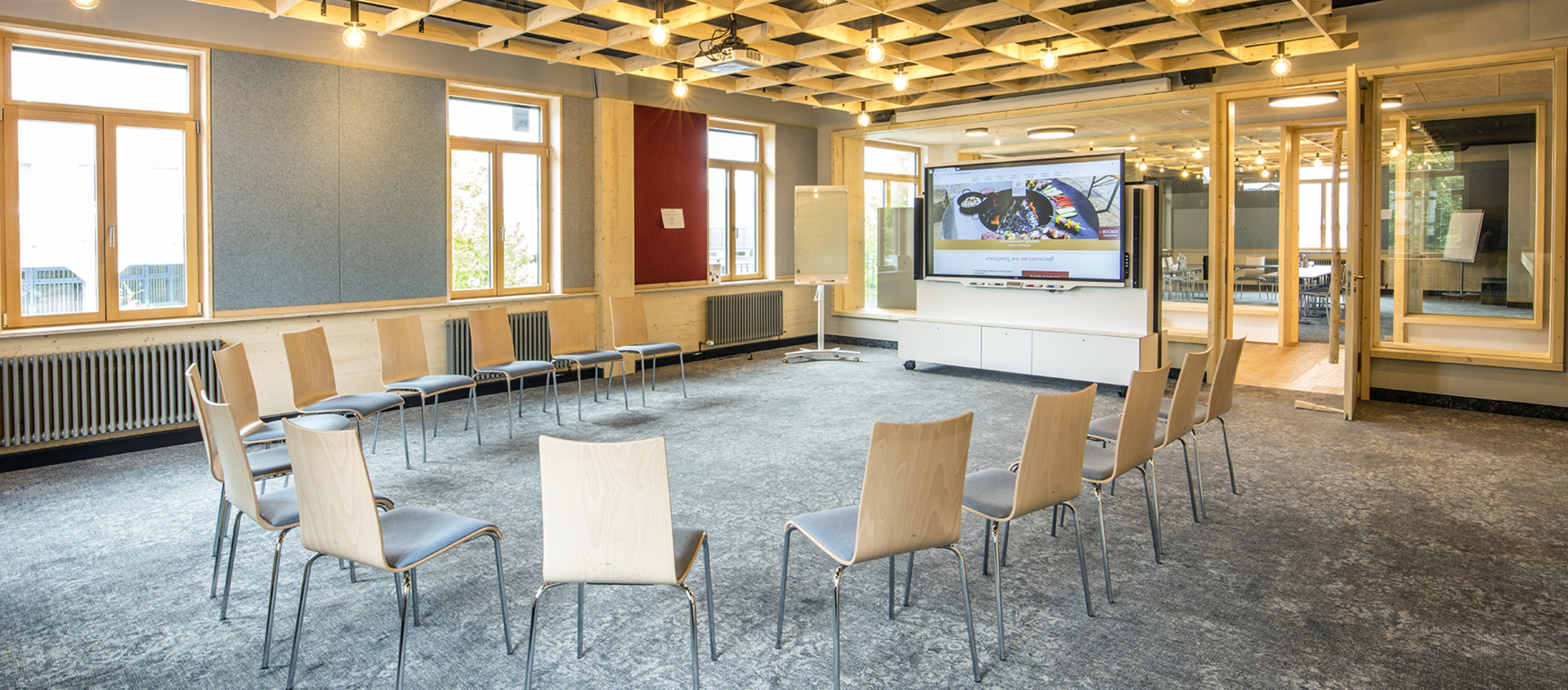 Ringhotel Zum Kreuz in Steinheim/Heidenheim circle in the meeting room