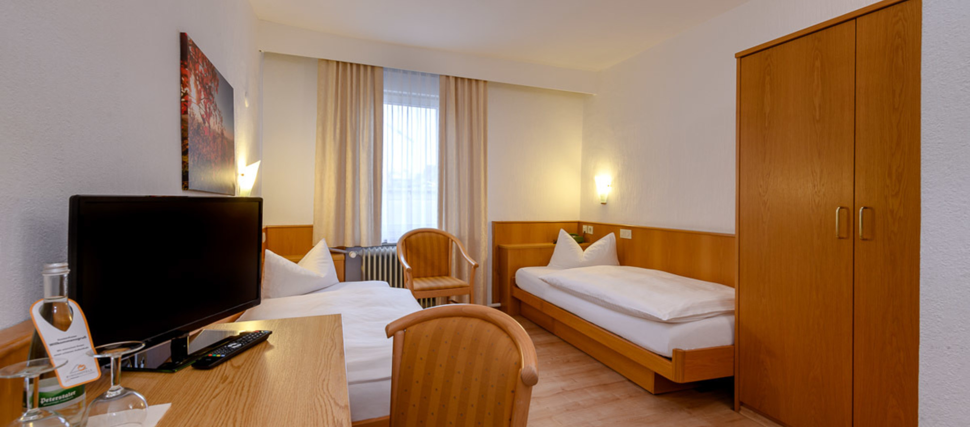 Ringhotel Pflug in Oberkirch twin room example