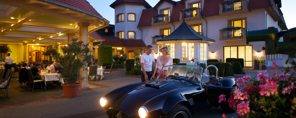 Southern flair awaits you in the 4-star hotel Ringhotel Winzerhof in Rauenberg, surrounded by Kraichgau vineyards