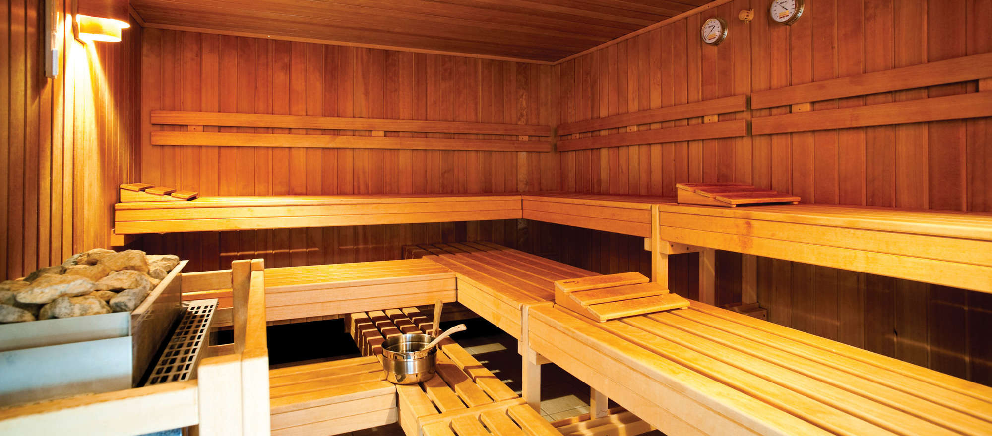 Finnish sauna in the 4-star hotel Ringhotel Birke in Kiel