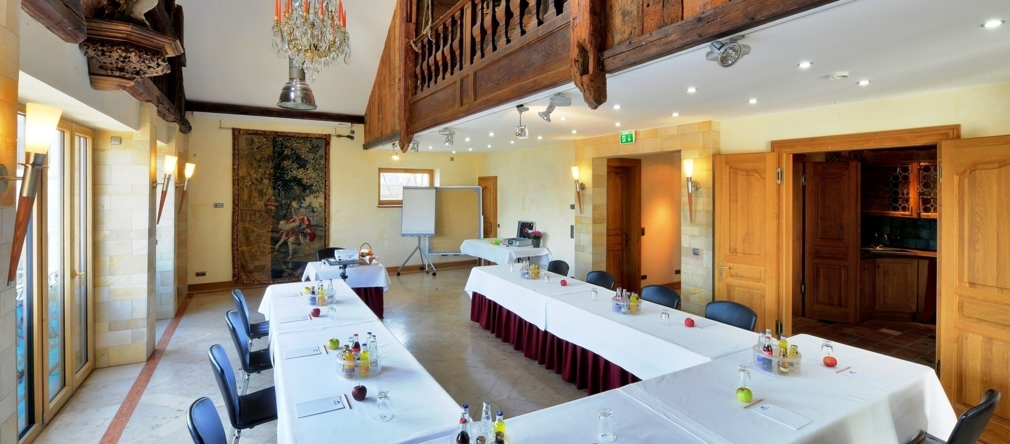 Excellent event location at the Ringhotel Alpenhof in Augsburg, Swabia