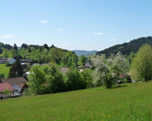 Landscape around Grasellenbach, Ringhotel Siegfriedbrunnen in Grasellenbach, 4-star-superior hotel in the Forest of Odes