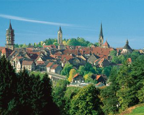 Rottweil, Ringhotel Johanniterbad in Rottweil, 3-star-superior hotel in the Black Forest