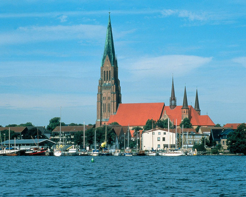 View on the Schleswig Cathedral