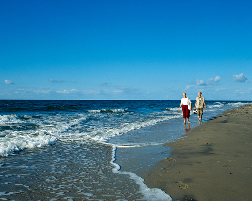 Sandy beaches, Ringhotel Hohe Wacht in Hohwacht, 4-star-superior hotel at the Baltic Sea Coast