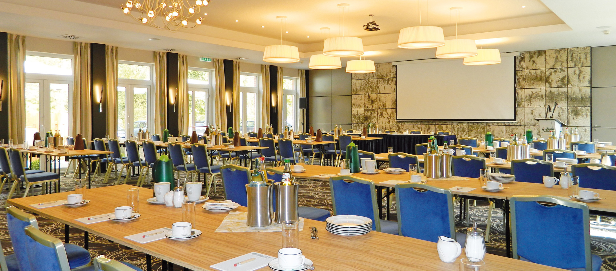 Conference room in the Ringhotel Koehlers Forsthaus in Aurich, 4-star-hotel at the North Sea coast