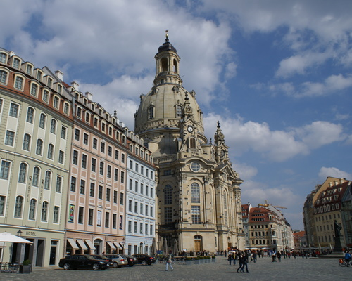 Church of our lady, Ringhotel Residenz Alt Dresden in Dresden, 4-star hotel in the metropolitan region Dresden